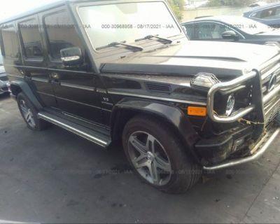 Salvage Black 2009 Mercedes-benz G-class