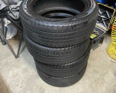 Set of Goodyear 205/55 R16 Tires