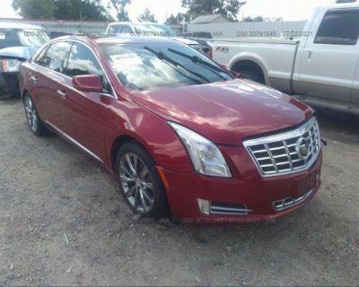 Salvage Red 2013 Cadillac Xts
