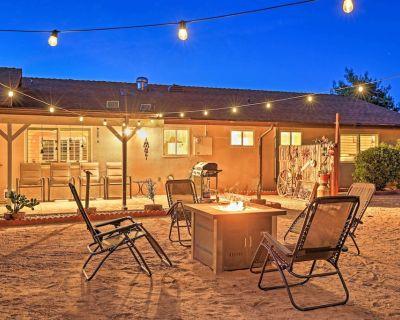 NEW! Charming Home, 8 Mi to Joshua Tree Nat l Park - Yucca Valley