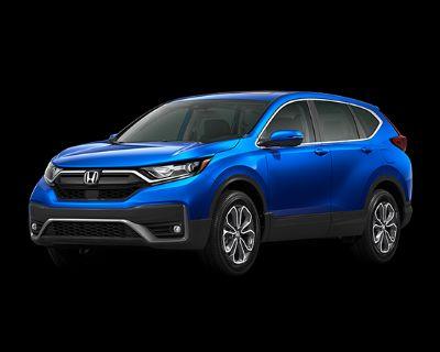 New 2021 Honda CR-V AWD EX