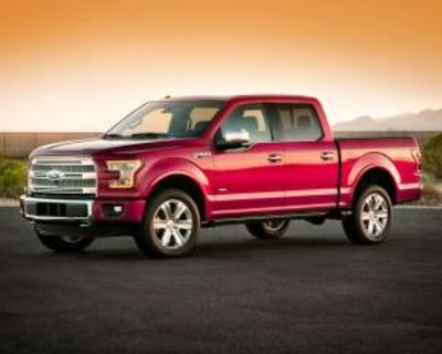 2016 Ford F-150 Lariat SuperCrew 5.5' Box 4WD
