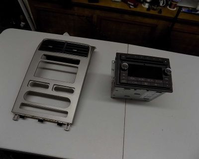 Factory radio and bezel for 2009 Lincoln MKX