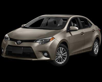 Pre-Owned 2016 Toyota Corolla L FWD 4D Sedan