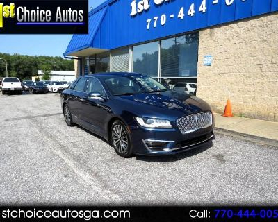 Used 2017 Lincoln MKZ Select AWD