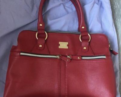 Modalu red leather purse