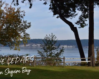 Family Friendly Waterfront Home with Beach Access, Professionally Cleaned - Sequim