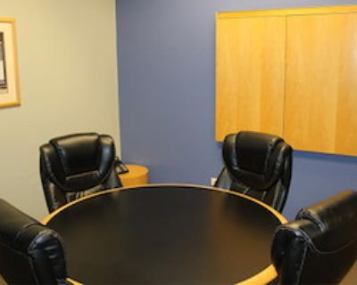 Private Meeting Room for 6 at Intelligent Office of Lincolnshire