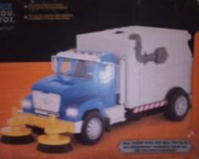 Driven Street Sweeper Toy Truck