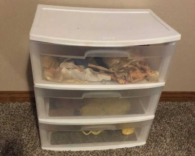 3 drawer storage container (3 available)