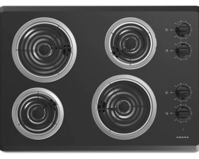 Amana 30 Electric Coil Cooktop (Brand New In Box)