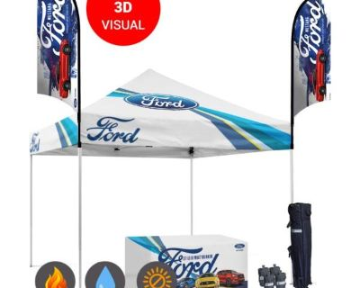 Easy to Set up Trade Show Canopy For Your Logo | Starline Tents.