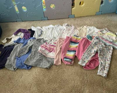25 pcs 6-9 mos old baby girl clothes