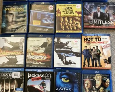 16 Blu rays for 15$