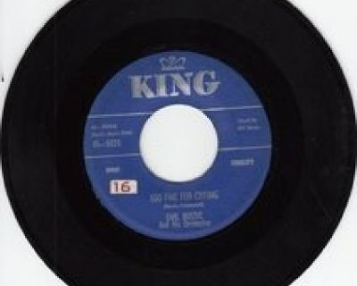 EARL BOSTIC w/BILL JONES ~ Too Fine For Crying*STRONG VG 45 !