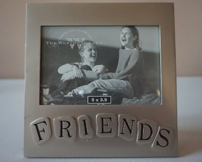 Silver Friends Picture Frame