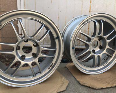 California - Enkei Wheels RPF1- Silver - 18x8.5 +40 - 5x120