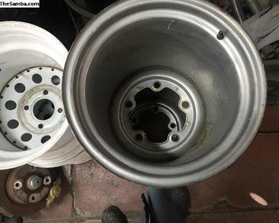wide steel wheel