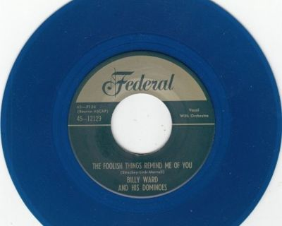 DOMINOES ~ These Foolish Things Remind Me Of You*M-45*RARE BLUE WAX !