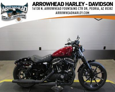 Pre-Owned 2017 Harley-Davidson Iron 883 Sportster XL883N