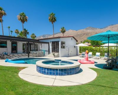 Relax at Casa Amarillo 5 min bike ride to downtown - Tahquitz River Estates