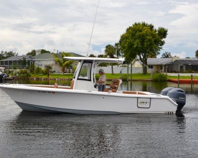 2018 26' Sea Hunt Gamefish 25