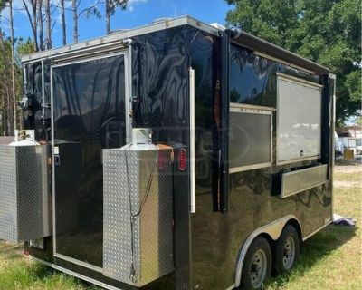 2020 - 14' Kitchen Concession Trailer with Pro Fire Suppression System