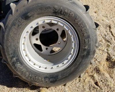Wide 5 DWT 15 inch beadlock wheels.