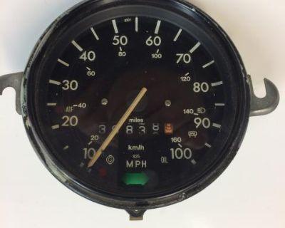 Mexican Beetle Speedometer 3/77