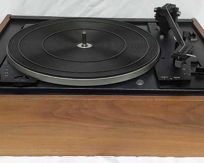 Vintage Dual 1210 Idler-Drive 3 Speed Turntable Made in Germany circa 1971