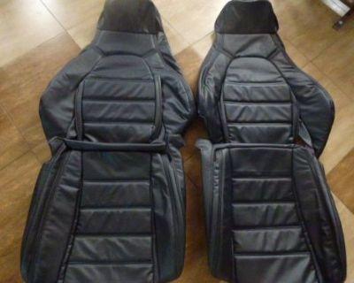 1990-1995 Mazda Miata Synthetic Leather Seat Covers Black