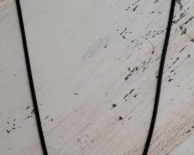 New black guitar necklace