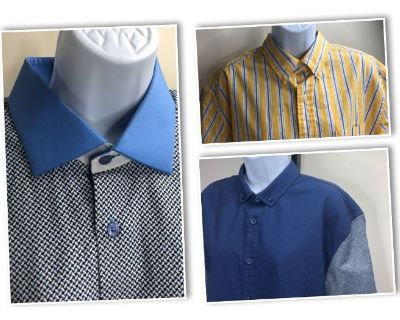 Designer Clothing ,Shoes and Accessories Bundles-Robert Graham, Coach, Michael Kors, Calvin Klein