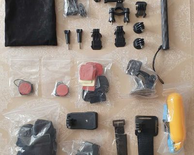 Camera Accessories Kit for Gopro Hero 7 6 5 4 3 ( NOTE CROSSPOSTED)