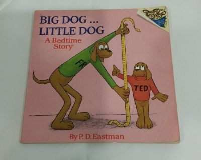 Big Dog, Little Dog - Please Read to Me - Book