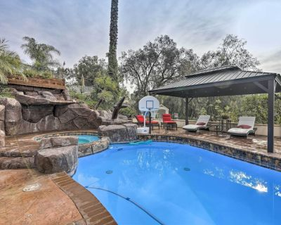 New! Chic Whittier Oasis w/ Private Pool + Hot Tub - Whittier