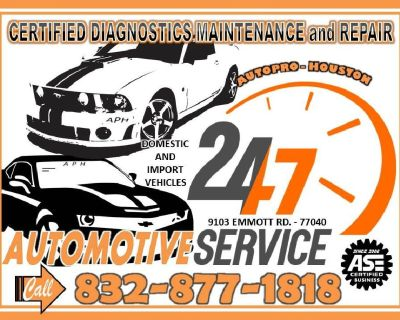 Car Care Center and Repair Shop | Houston TX Since 2006