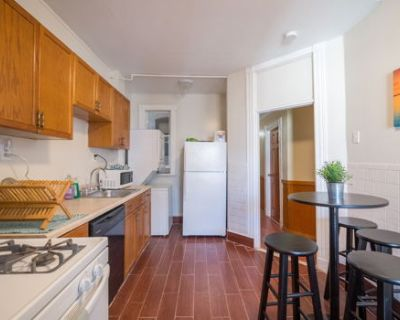 Fully Furnished Apartment with a Great Backyard