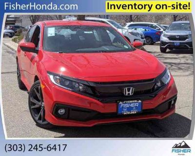 New 2021 Honda Civic Sedan CVT