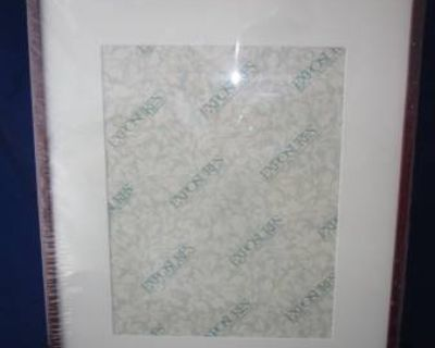 """EXPOSURES Wood Picture Frame for 11"""" x 14"""" 14"""" x 11"""" picture DARK WOOD"""