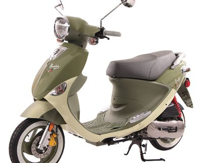 2022 Genuine Scooters Buddy 50 Little Internationals Scooter North Mankato, MN