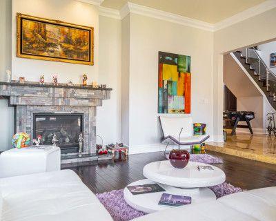 Stunning Mediterranean Mansion with Contemporary Interior, Los Angeles, CA