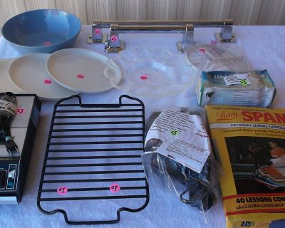 Misc. Items - Tape Recorder and More - Box 8
