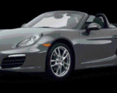 2013 Porsche Boxster Roadster