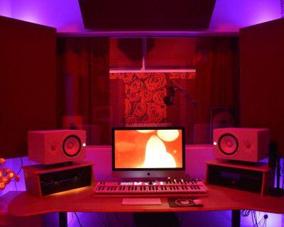LA Recording Studio/Music Production Room with Elegant Rose Theme, Los Angeles, CA