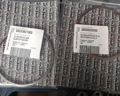 KTM 525 RING SET