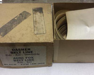 NOS Dasher Fox Belt Line Trim Pinstripe