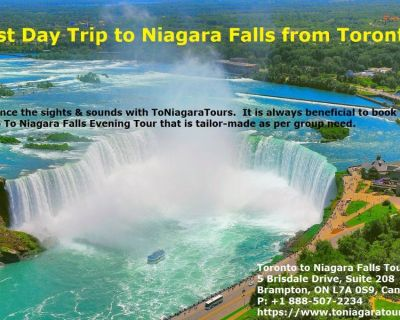 Toronto To Niagara Falls Evening Tour