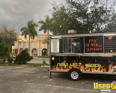 Barely Used and Clean 2020 - 8' x 12' Food Concession Trailer