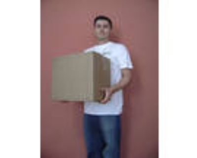 Moving Box - Small (Used, 19x16x8)